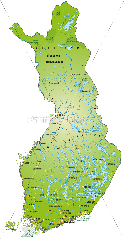 Sim Karte F303274r Usa.Finnland Karte Landkarte