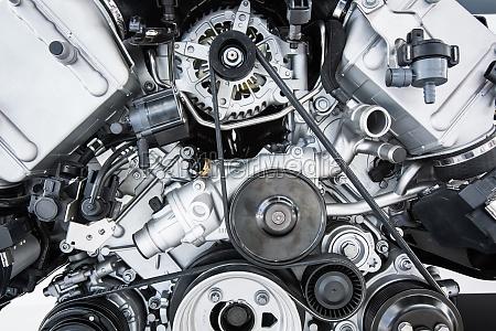 motore di automobile moderno motore