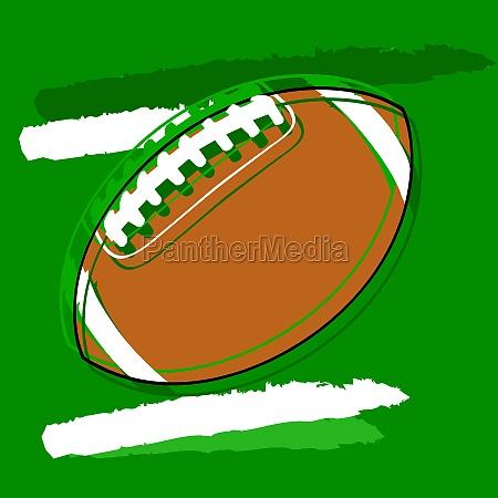 stilisierter fussball
