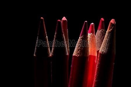 buntstifte rot zeichnen malen schreiben farbig