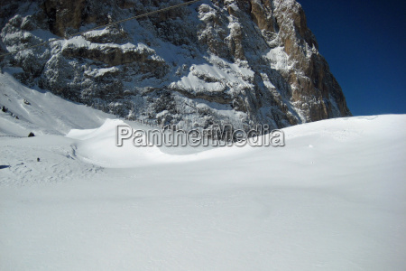 mountains winter dolomites south tyrol firmament