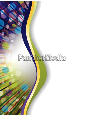 abstract brochure background design