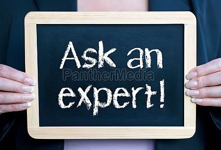 fragen sie einen experten
