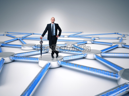 connected man