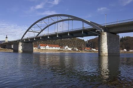 danube bridge in deggendorf