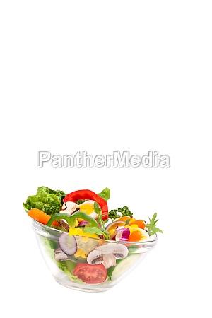 frischer bunter salat