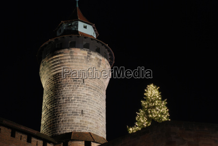 christmas in the city of nuremberg