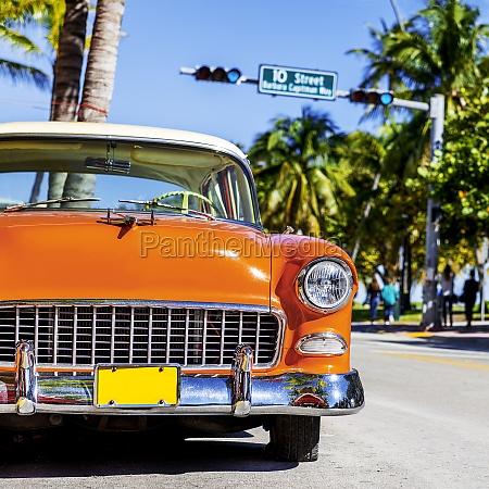 classic american auto auf south beach