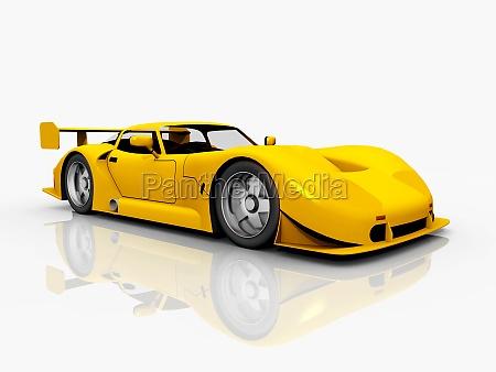 beautiful sports car