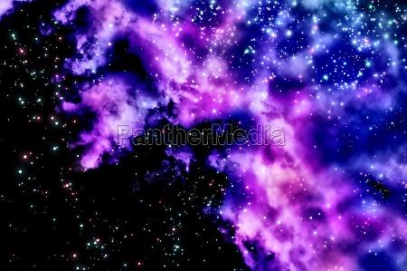 space weltraum fantasie milchstrasse galaxie