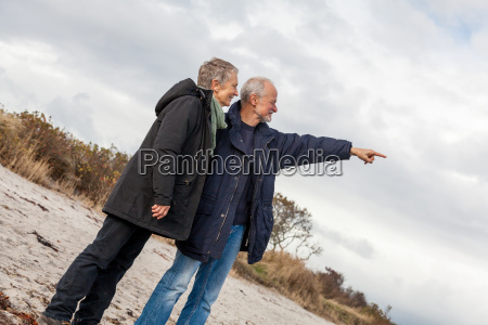elderly senior couple happy laughing on