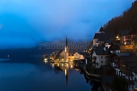 alpen nebel austria voralpen