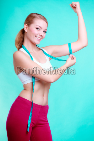 diet fitness woman fit girl with