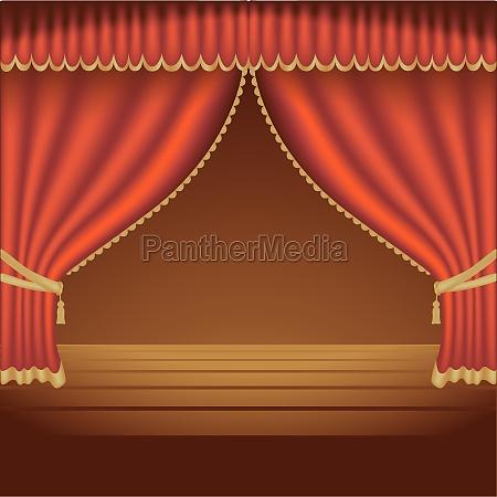 rote theater vorhaenge