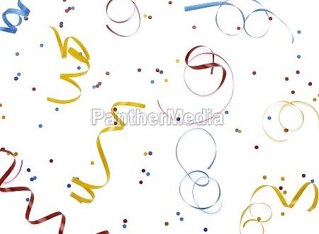 luftschlangen, und, konfetti - 11134880