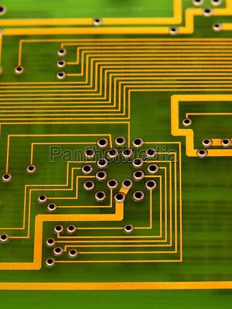 elektronisch elektronik leiterbahn schaltung schaltkreis technologie