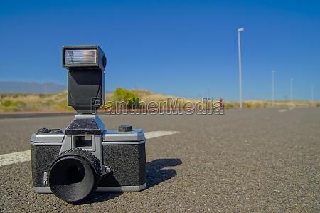 asphalt foto fotocamera fotoapparat kamera knipskiste