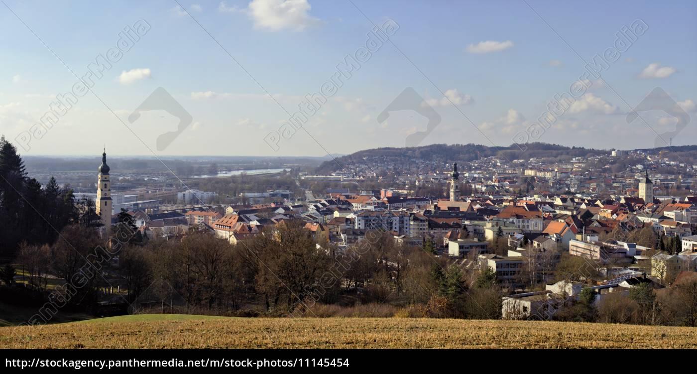 stadtansicht, deggendorf - 11145454