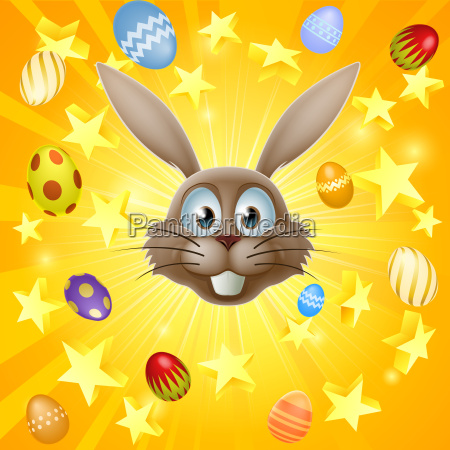 easter bunny concept