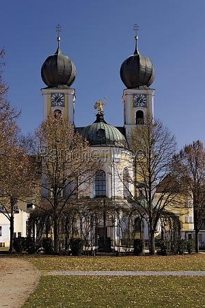 monastery church metten