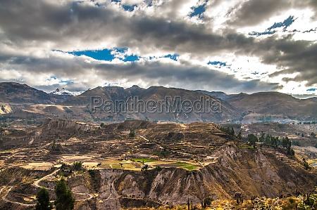 colca canyon view UEbersicht