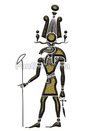 khensu gott des alten aegypten