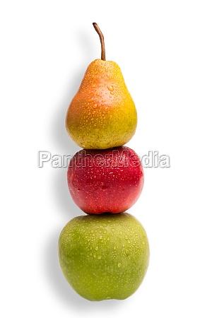 AEpfel und birnen