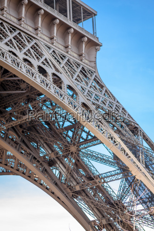 eiffel tower in paris landmark in