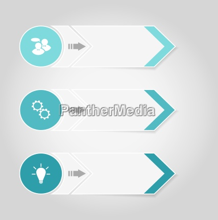 set moderne design banner mit infografiken