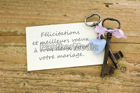 french wedding card wedding marriage marry