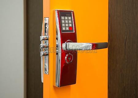 elektronisches sicherheitstuerschloss