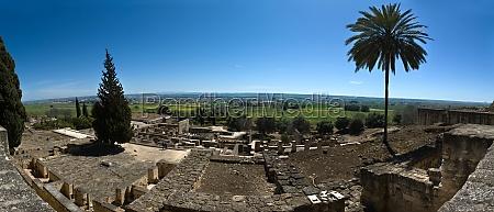 panorama uebersicht von medina azahara