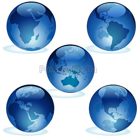 globus planet erde terra welt erdkugel