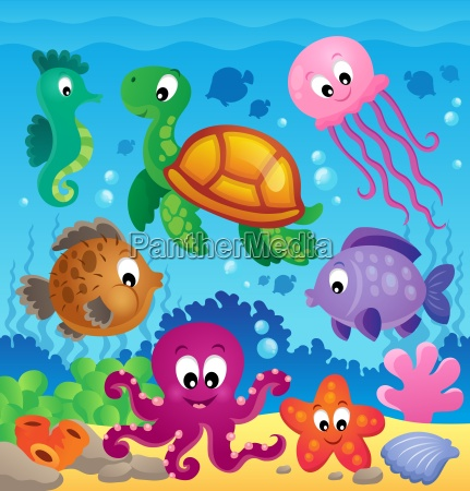 image with undersea theme 7