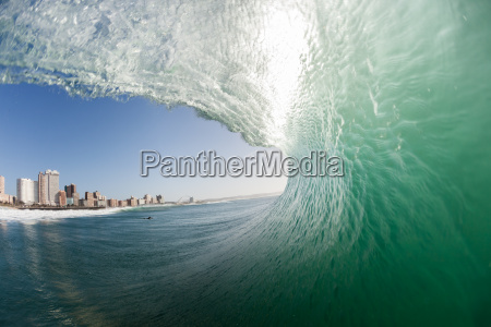 ocean wave wand wasser