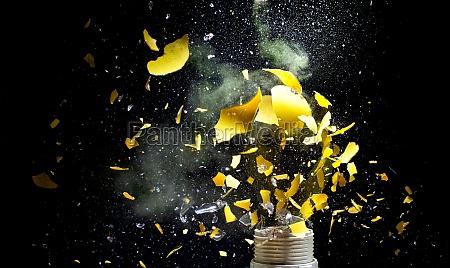 lampe explosion