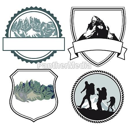 bergsteiger symbole