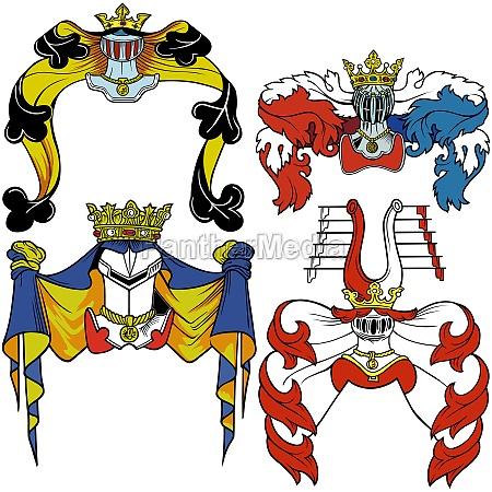 heraldik helm