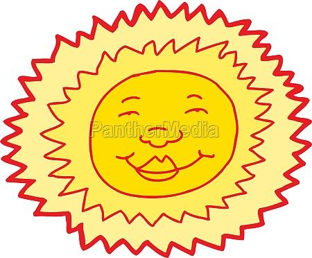 smiling sun avatar