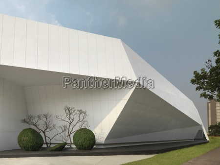 detail der modernen architektur