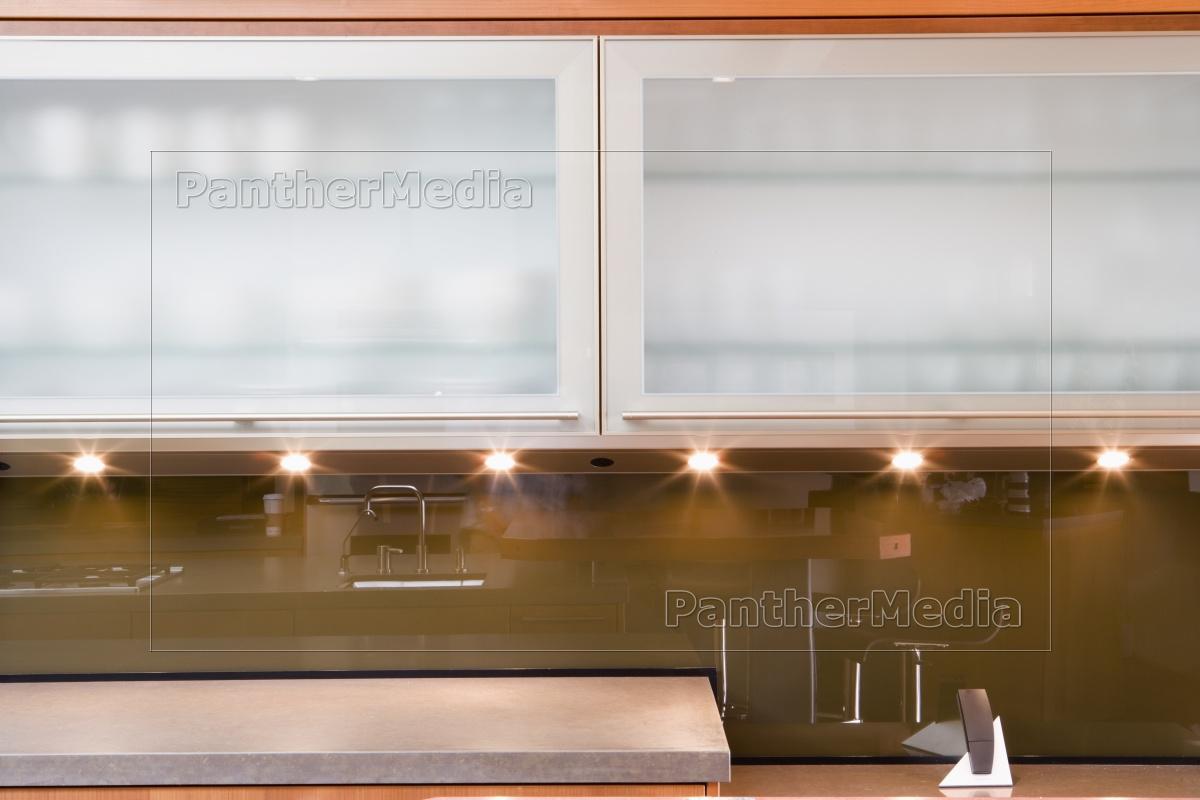 Moderne Kuchenschranke Lizenzfreies Bild 11318917 Bildagentur