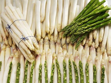 abundance arrangement asparagus spear asparagus spears
