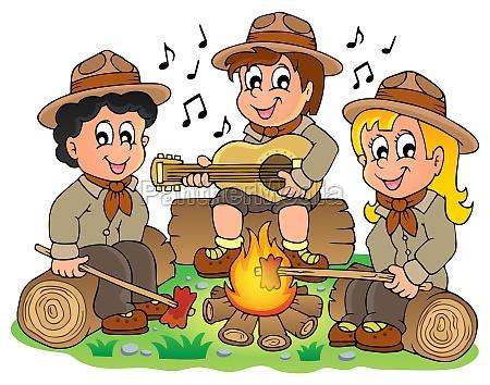kinder scouts thema bild 1