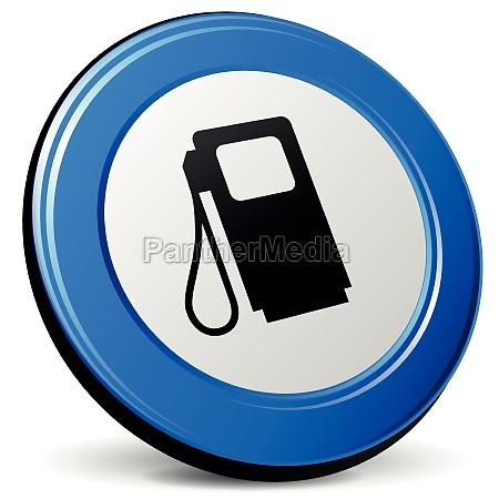 vector 3d fuel icon