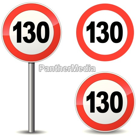 vector hundred thirty sign