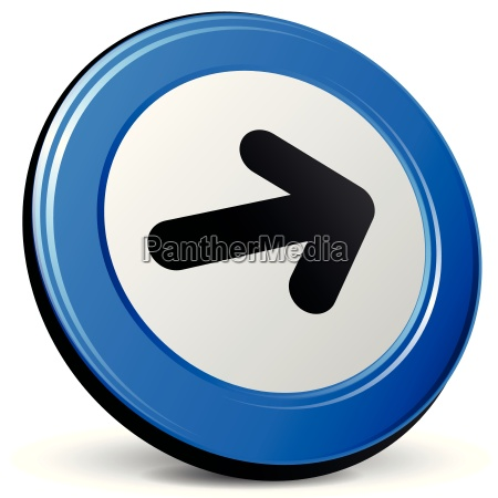 vector 3d arrow icon
