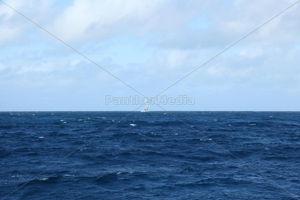 La Digue, Postkarte, Seychellen, Traum, tropisch, Wolken - 11375515
