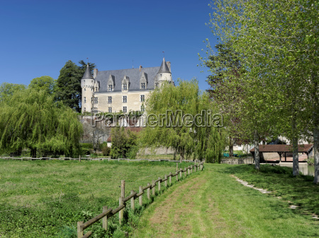 montresor castle and village indrois valley