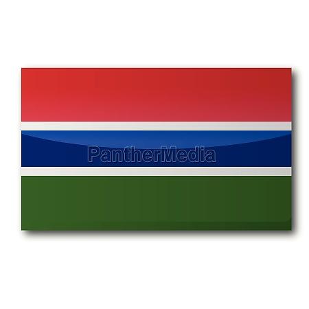 flagge gambia