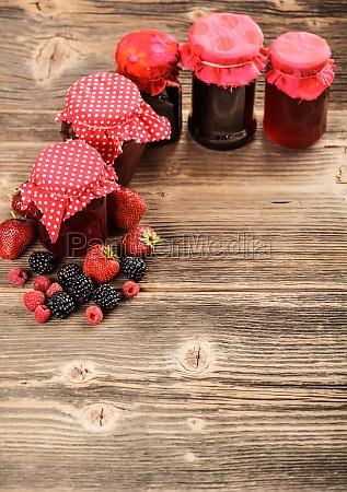 traditional homemade jam